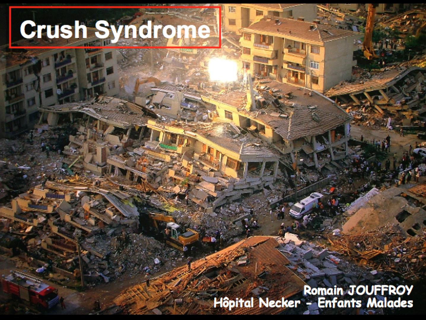 Crush Syndrome and Hyperkalemia